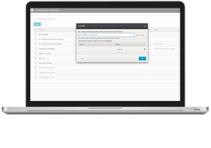 Share an analytics dashboard