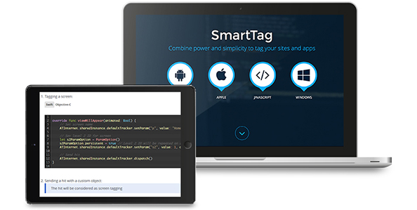Tag analytics léger et simple - SmartTag