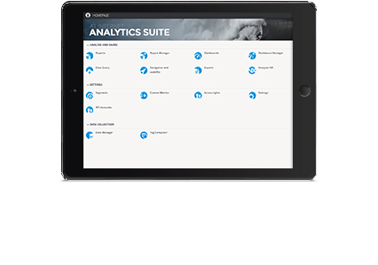 Application Rapports Analytics Suite