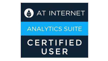 Analytics Suite certified user
